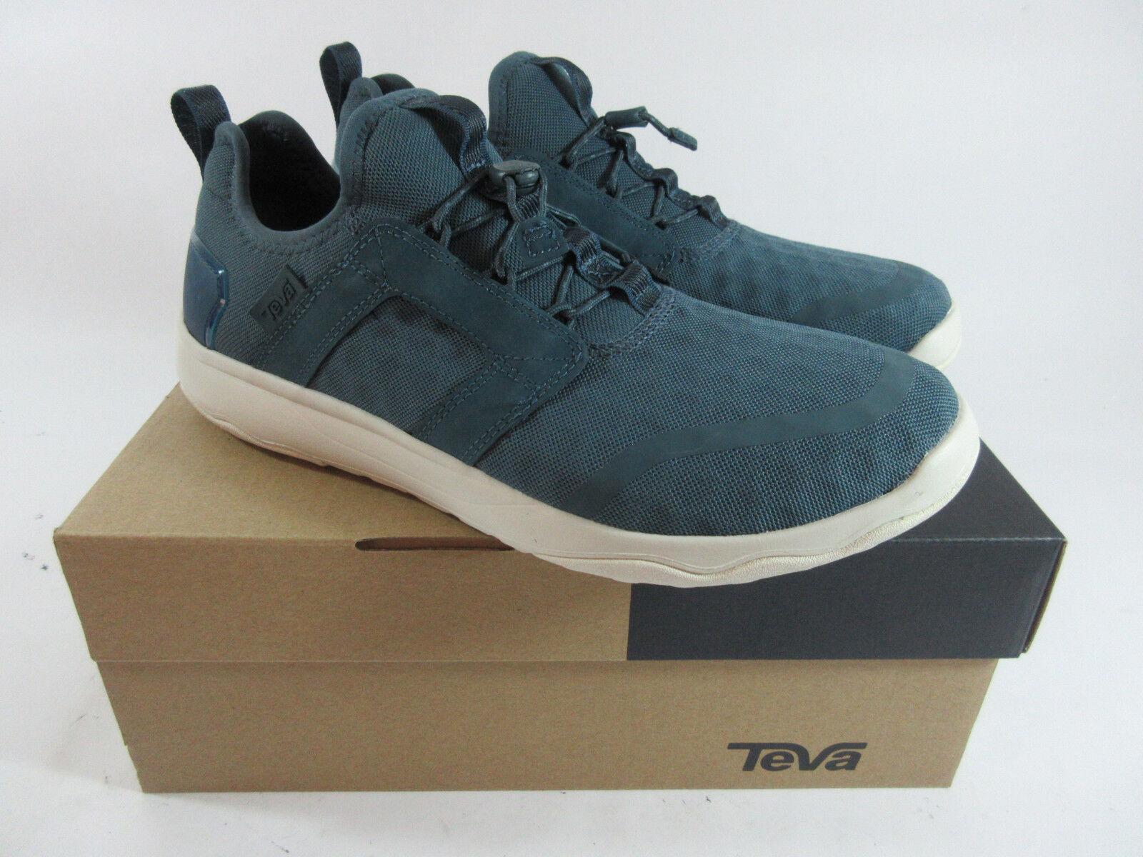 Teva Arrowood Swift Teal bluee Indigo Womens Lace Sneakers Size 8.5 NEW
