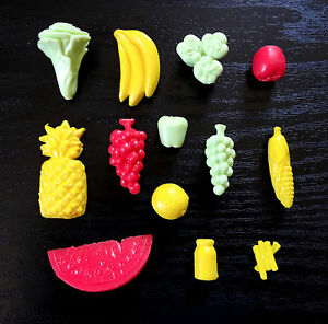 Barbie Doll House Furniture Misc Kitchen Store Food Fruit Other Dollhouse Miniatures Dollhouse Miniatures Bunch Of Bananas !!!