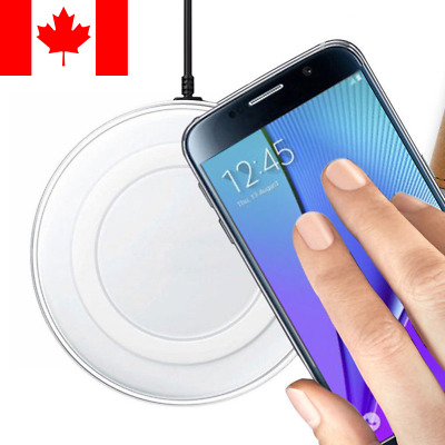Wireless Charging Pad Qi Charger For Samsung Galaxy / iPhone