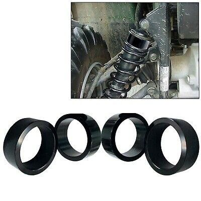 """2.5/"""" Front and Rear Suspension Spacer Lift Kit Yamaha Wolverine 350 450 BLACK"""