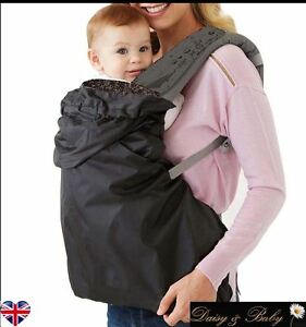 baby carrier cover rain cover wind waterproof sling wrap wearing