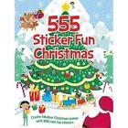 555 Sticker Fun Christmas by Oakley Graham (Paperback, 2015)