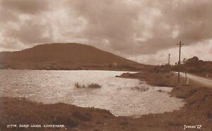 a irish galway county eire old postcard ireland oorid lough connemara