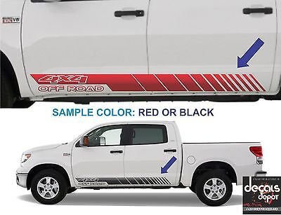 (2X) Chevy GMC Ford Nissan Toyota Dodge RAM 4X4 Off Road 1500 2500HD Universal