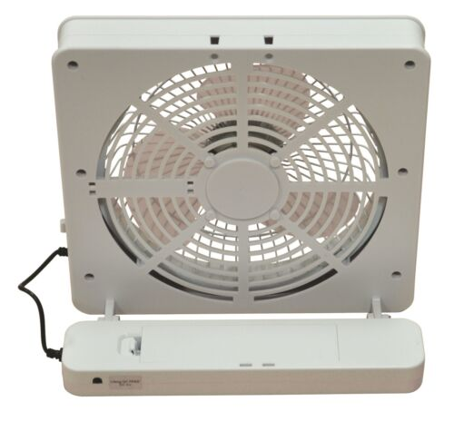 "batterie ordinateur portable bureau ordinateur de bureau ventilateur de bureau Prem-I-Air Square 6 /""USB"
