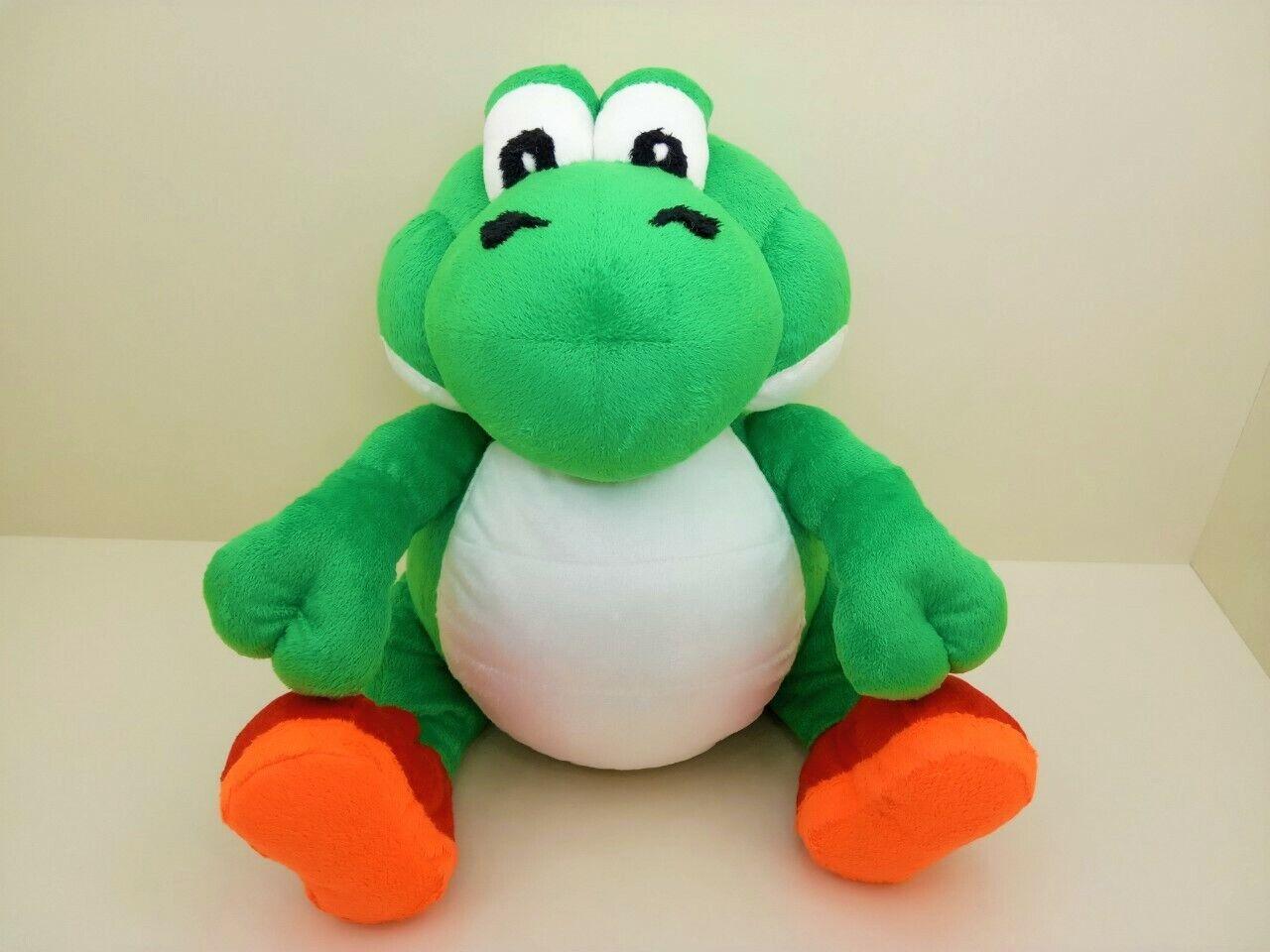 Fat Yoshi plush depressed toy art doll super mario dragon Grün dinosaur stuffed