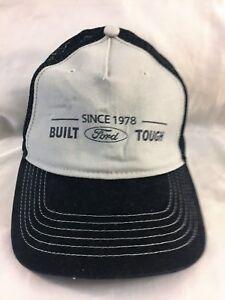 e94a80b145f Built Ford Tough Trucker Hat Cap Since 1978 Gray Mesh Truck Car ...