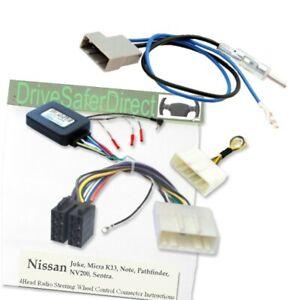 SWC-5235-a-Stalk-control-Antenna-adaptor-kit-for-ISO-Radio-Nissan-Juke-F15-10