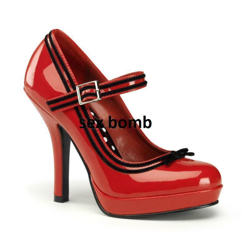 chaussures PIN PIN PIN UP PLATEAU TACCO 11,5 DAL 35 AL 41 CINTURINO SEXY HOT GLAMOUR 1d2b78
