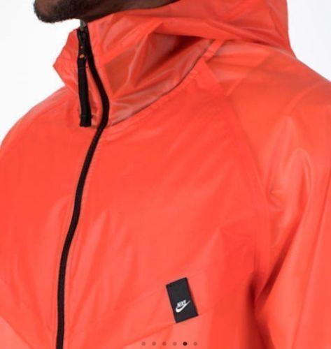 Aj1400 Naranja Qs 891 lluvia para Windrunner la Chaqueta Nike Sportswear Hd Mediana Nwt Hombres vCOw6qK7