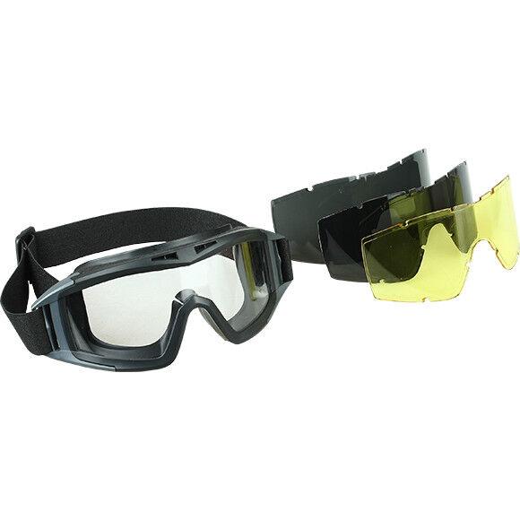 Tactical Anti Goggles Eye Safety Predection Glasses  KITE  with Lenses, SPLAV