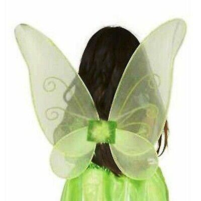 Carnevale Halloween Ali Verdi Fatina Trilly Fairy Tinker Bell Green Wings Prestazioni Affidabili