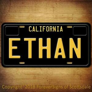 Ethan-California-Name-License-Plate-Aluminum-Vanity-Tag