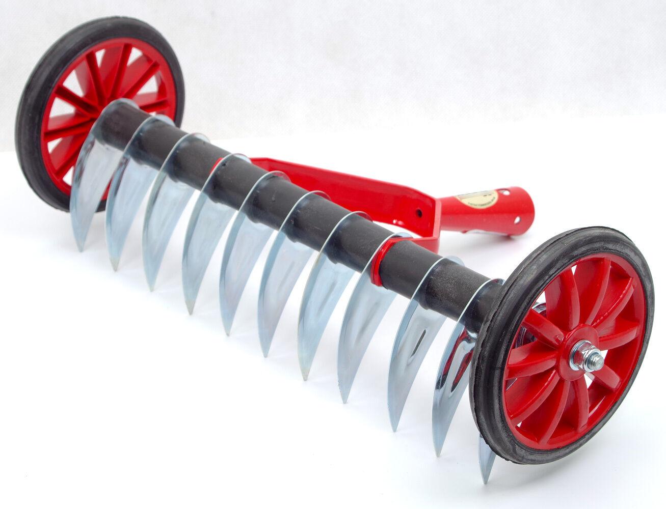 Handvertikutierer 35cm Coupe Scarificateur Fan de Course Râteau Râteau K/_92