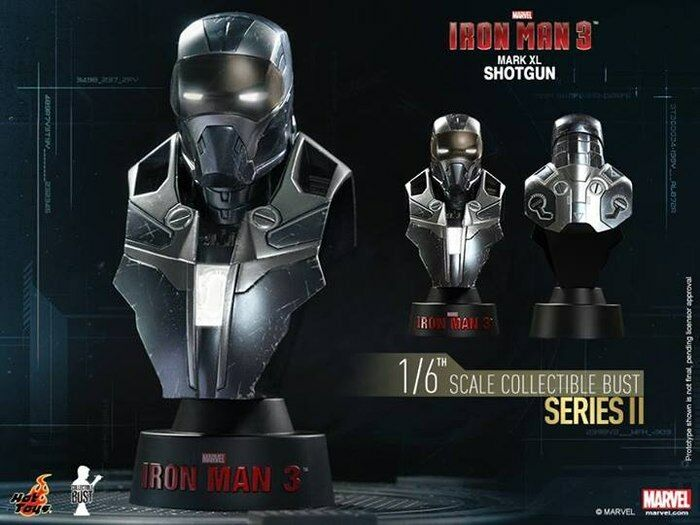 Iron Man 3 - Mark XL Shotgun 1:6 Scale Bust-HOTHTB27