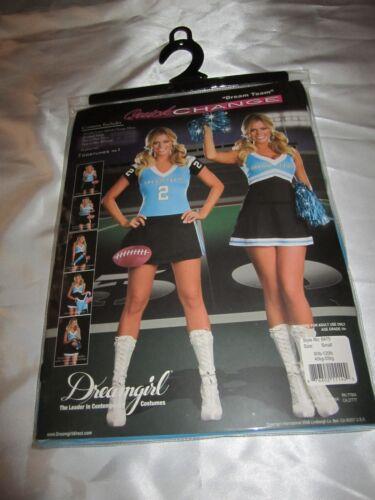 DREAMGIRL 6475 Womens Dream Team Cheerleader Costume several sizes reg $69