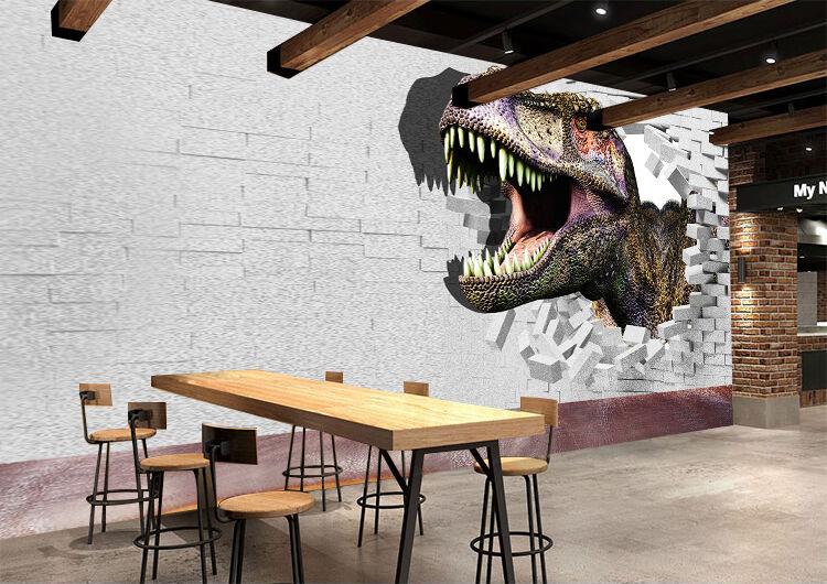 3D Huge dinosaurs 33 Wall Paper Wall Print Decal Wall Deco Indoor wall Murals