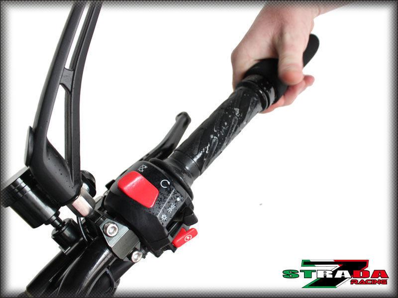 Strada 7 manopole in schiuma per motociclette,grip comode e antivibrazioni per BMW K 1600 GT GTL E K1200LT