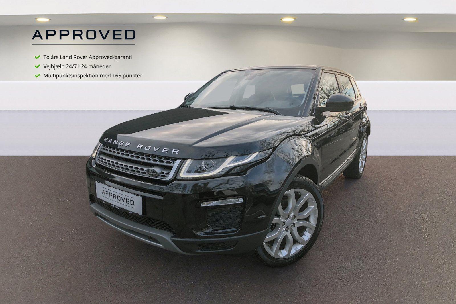 Land Rover Range Rover Evoque 2,0 TD4 150 SE aut. 5d - 599.980 kr.