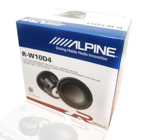 Dual Voice Coil Subwoofer Alpine R-W10D4