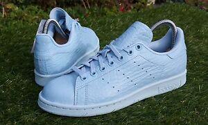 BNWB Rare Genuine adidas originals Stan Smith Croc Pack Trainers UK Size 6