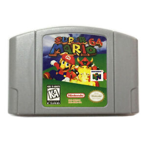 Super-Mario-64-Video-Game-Cartridge-Console-Card-For-Nintendo-64-N64-US-Version