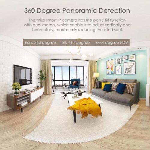 Mijia Smart IP Camera 1080P WiFi Wireless Pan Tilt Night Vision Webcam GV