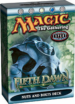 Fifth Dawn Theme Deck Nuts and Bolts ENGLISH FACTORY SEALED NEW MAGIC ABUGames