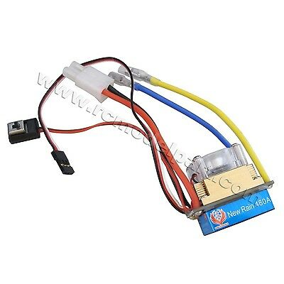 New 320A Three Mode Brushed Speed Controller ESC Regler for 1//10 RC Car Boat