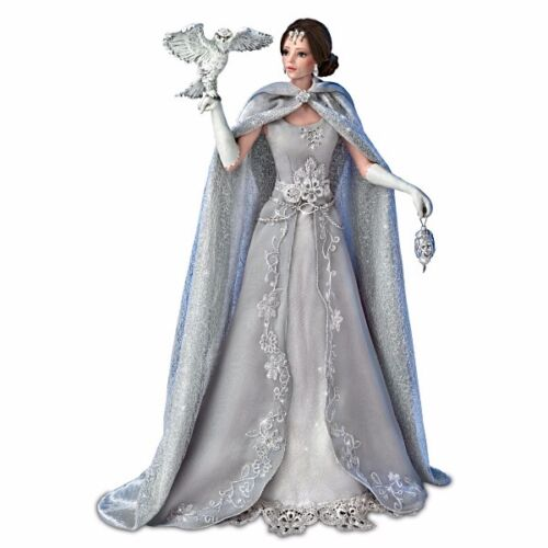 Snow Queen Guardians of the Night CINDY MCCLURE Doll Ashton Drake Bradford