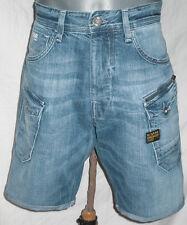 G-STAR RAW Herren Jeans 1/2 Shorts Größe W32  NATTACC STRAIGHT    + NEU +