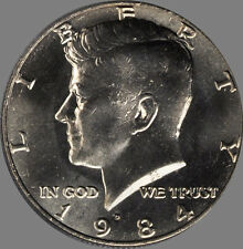 J-6-18 NOT ROLL 1979-D KENNEDY HALF DOLLAR FROM US MINT SET IN CELLO