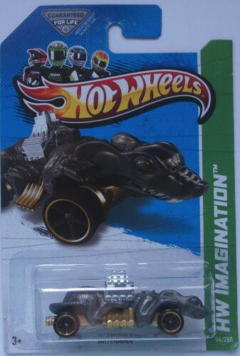 2013 Hot Wheels HW IMAGINATION Ratmobile Col #54 Metallic Grey Version
