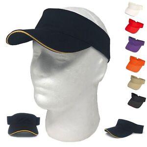 Details about 1 Dozen Washed Sandwich Cotton Visors Baseball Cap Bill Sun  Hat Wholesale Bulk 1a39febf30f