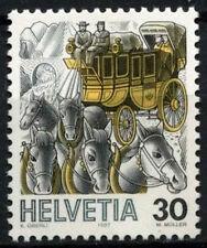 Switzerland 1986-9 SG#1106, 30c Post, Past & Present Definitive MNH #D45642