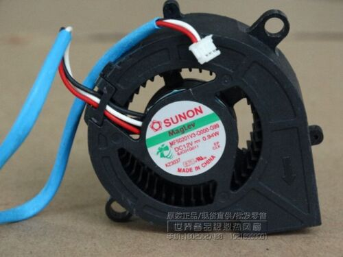 for SUNON MF50201V3-Q000-G99 12V 0.94A 3pin projector blower cooling fan