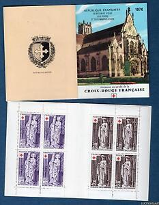 Carnet-Croix-Rouge-Numero-2025-Annee-1976-Sculptures-religieuses-de-l-039-Eglise-d