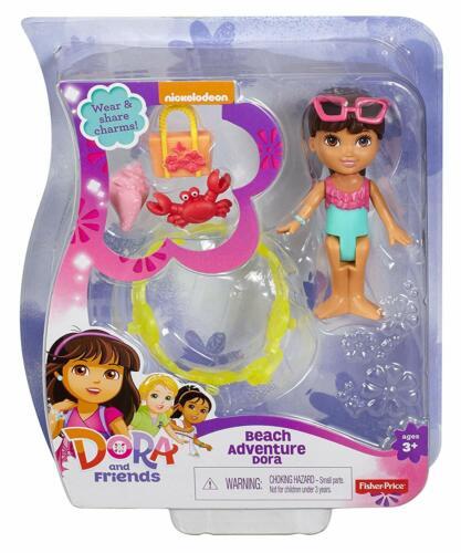 Beach Adventure Dora Playset With Accesories Fisher-Price Dora /& Friends