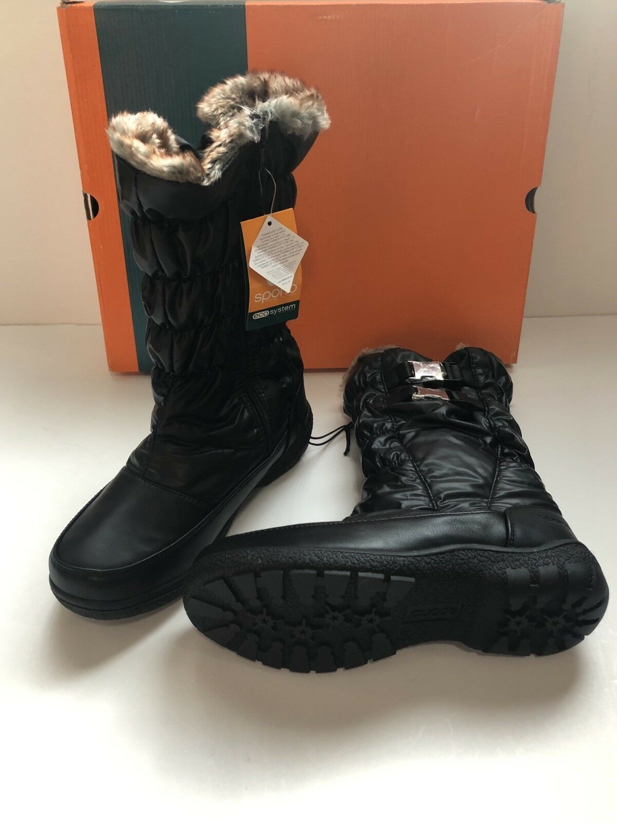 Sporto MAKELA Cold-Weather Waterproof Thermolite Boots Size 8.5 Retail  69