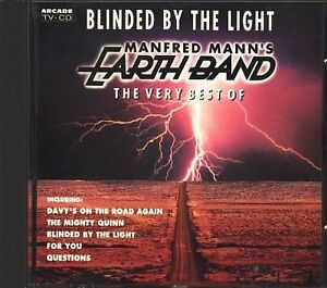 Manfred-Mann-039-s-Earth-Band-Blinded-by-the-light-The-very-best-of-CD