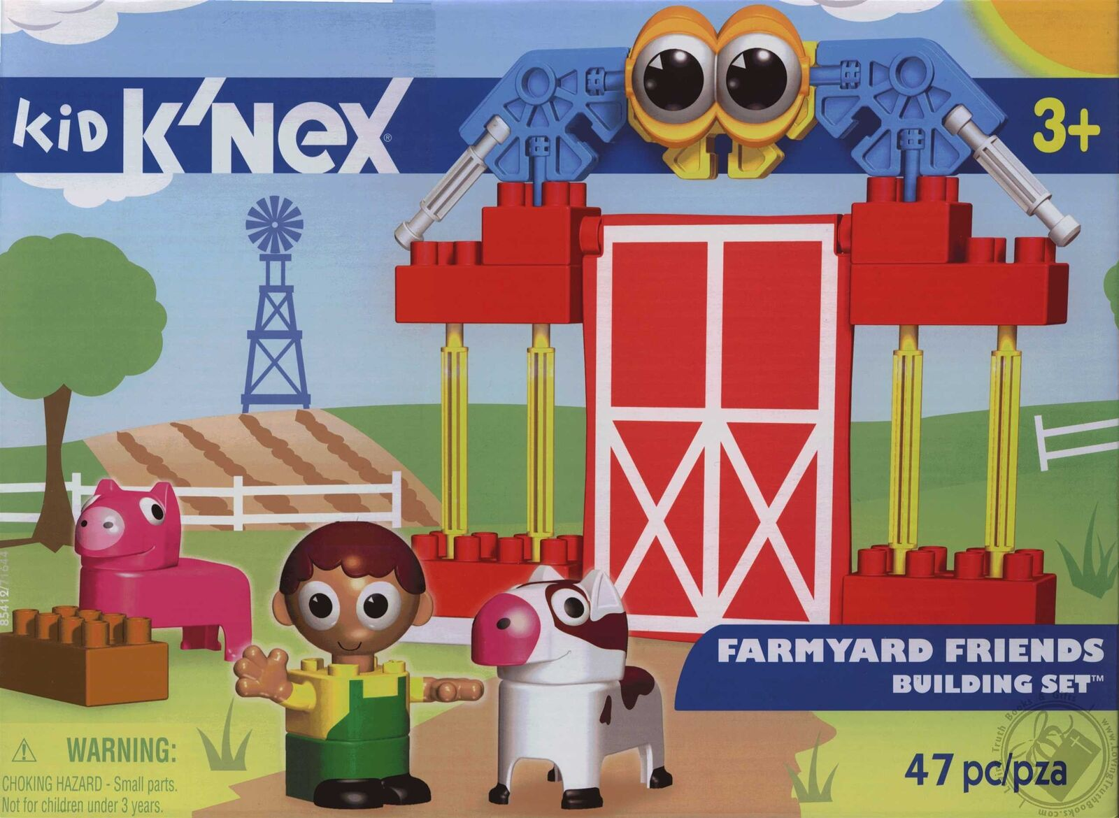 NEW Kid K'Nex Farmyard Friends 47 Piece Building Set Age 3 and Up DISCONTINUED