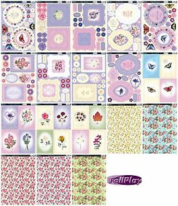Kanban-kit-Forever-Floral-die-cut-paper-craft-toppers-amp-card-for-cardmaking