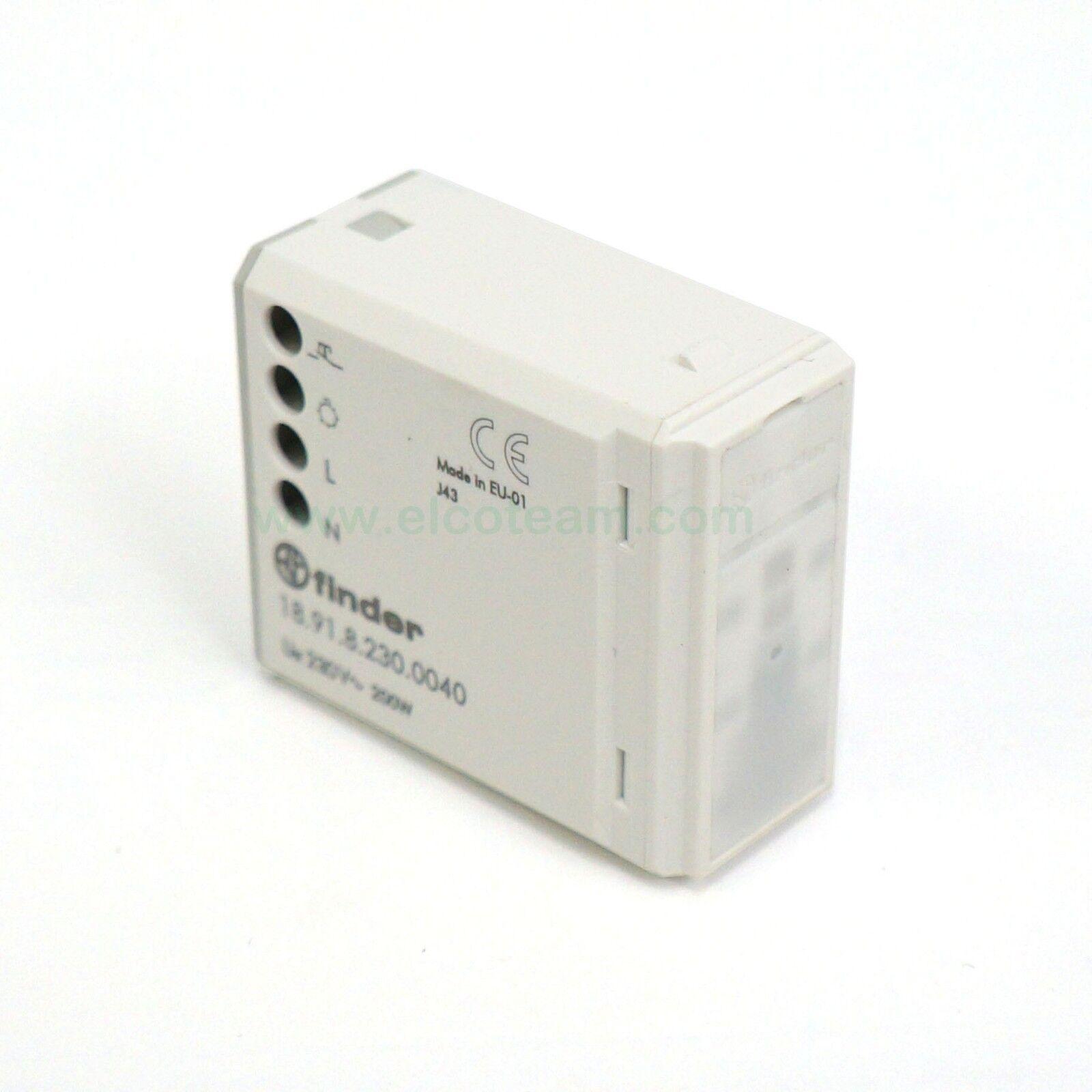 Finder 18.91.8.230.0040 Detektor der Bewegung für international für Schachteln