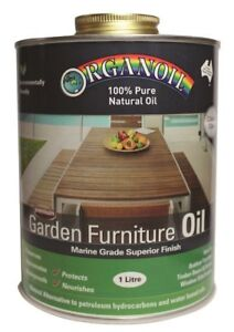 ORGANOIL 100% Pure Natural Oil Garden Furniture Oil 1Litre