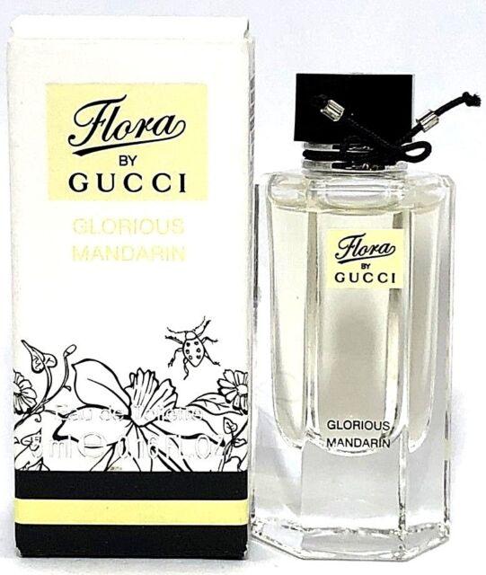c0803019a Gucci Flora Glorious Mandarin Eau De Toilette 0.16oz / 5 Ml Mini Women  Perfume