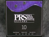 Prs One Pack Of 6 String Electric Guitar Strings 10-46 Set Paul Reed Smith