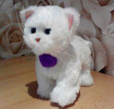 Furreal friends kitten white walking cute elctronic pet