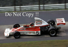 Emerson Fittipaldi McLaren M23 German Grand Prix 1974 Photograph 4