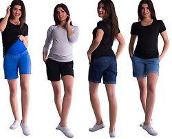 NEU Sommer Jeans Umstandshose Kurze Hose 36 38 40 42 44 S – 2XL Shorts