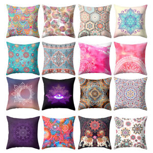 ALS-Ethnic-Printed-Throw-Pillow-Case-Sofa-Bed-Chair-Cushion-Cover-Home-Decor-My